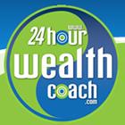 logo for 24hour wealth coach